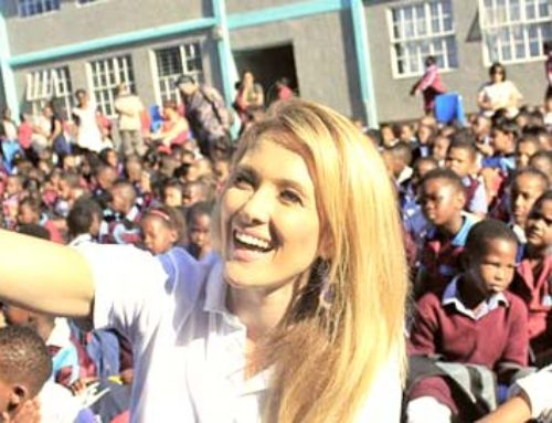 Catherine Constantinides's first meeting with Nelson Mandela